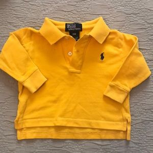 Ralph Lauren long sleeve polo 12 months